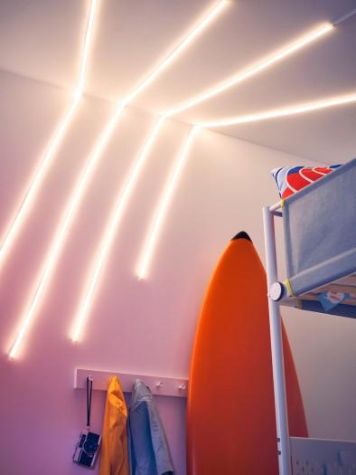 Flexible LED-Lichtleiste Myrvarv (Bild: Ikea)
