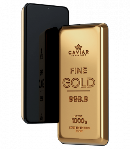 Das güldene Smartphone von Caviar (Bild: Caviar)