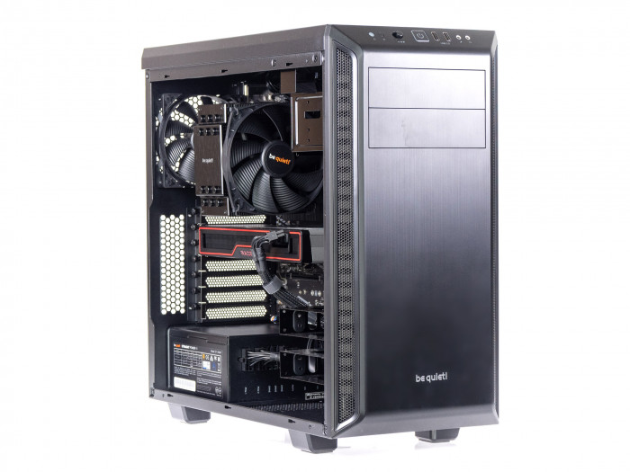 Golem Performance mit Radeon RX 6700 XT und Ryzen 5 5600X (Bild: Golem.de)