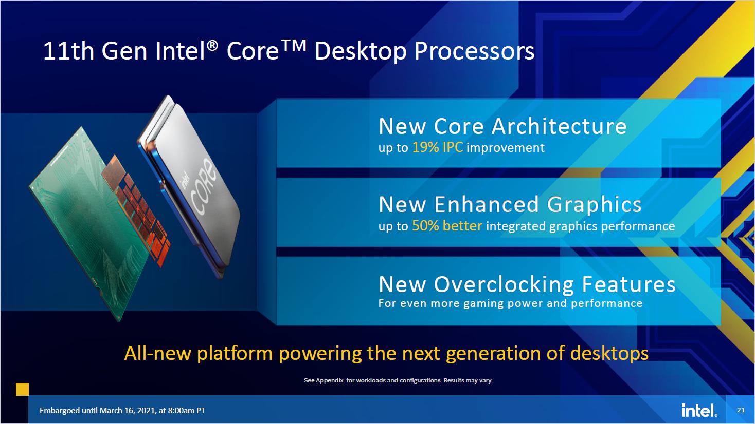 11th Gen Core: Das kann Intels Rocket Lake - Rocket Lake S (Bild: Intel)