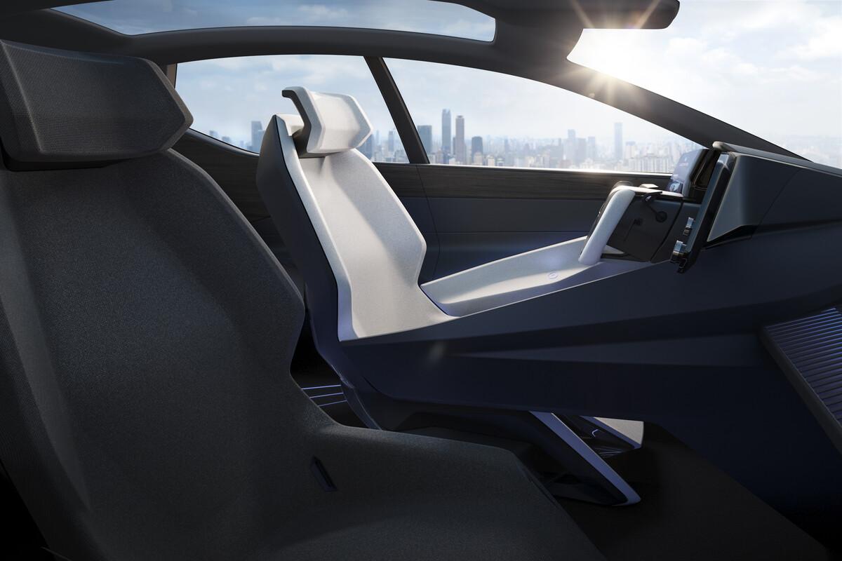 Elektroautokonzept: Erste Bilder des Lexus LF-Z mit Tesla-Lenkrad veröffentlicht - Lexus LF-Z (Bild: Lexus)