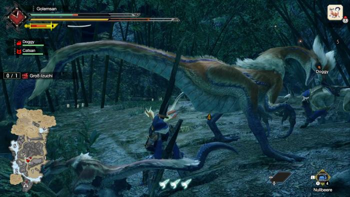 Die größeren Monster sehen sehr gut aus. (Bild: Capcom/Screenshot: Golem.de)