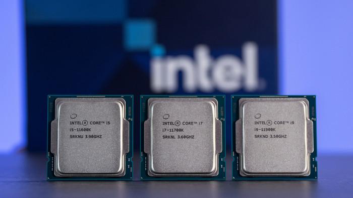 Core i9-11900K, Core i7-11700K, Core i5-11600K (Bild: Martin Wolf/Golem.de)