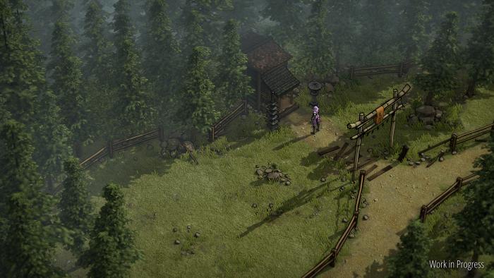 Artwork von Shadow Tactics - Blades of the Shogun: Aiko's Choice (Bild: Mimimi Games)