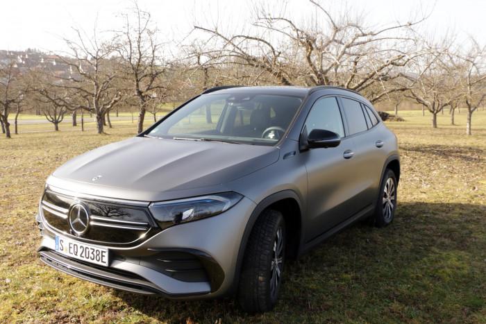Der EQA ist der neue Kompakt-SUV von Mercedes-Benz. (Foto: Friedhelm Greis/Golem.de)