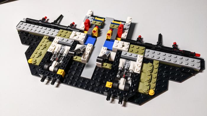 Lego Space Shuttle Discovery (Bild: Oliver Nickel/Golem.de)