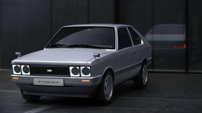 Heritage Series Pony EV: Pony war Hyundais erstes Serienmodell. (Bild: Hyundai)