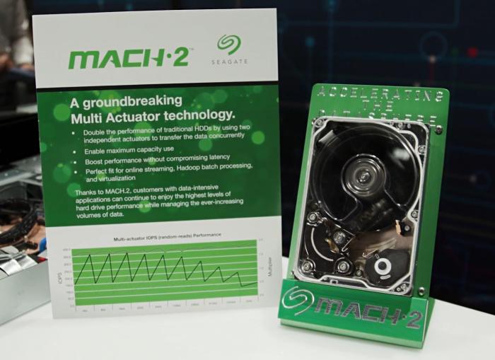 Mach.2 Exos 2X14 mit zwei Aktoren (Bild: Seagate)
