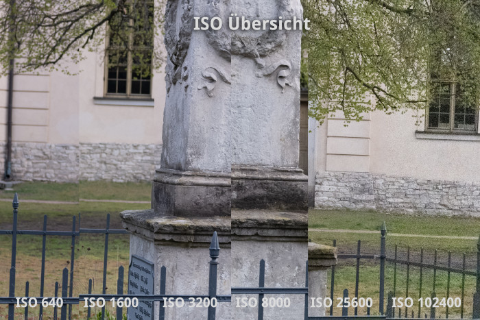 Das Rauschverhalten auch bei hohen ISO-Werten ist exzellent ... (Bild: Martin Wolf / Golem.de)