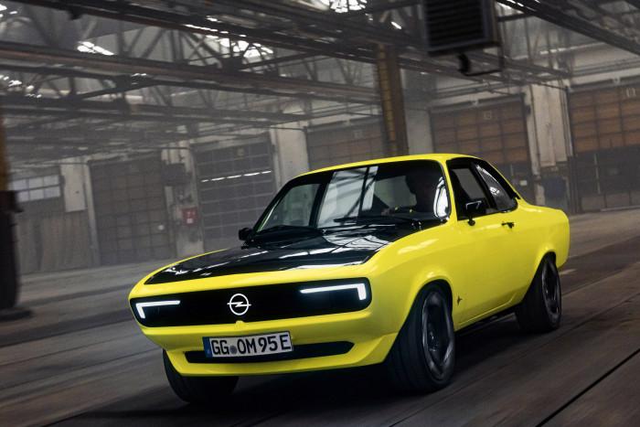 Der Manta GSe Elektromod existiert bislang nur als Einzelstück.