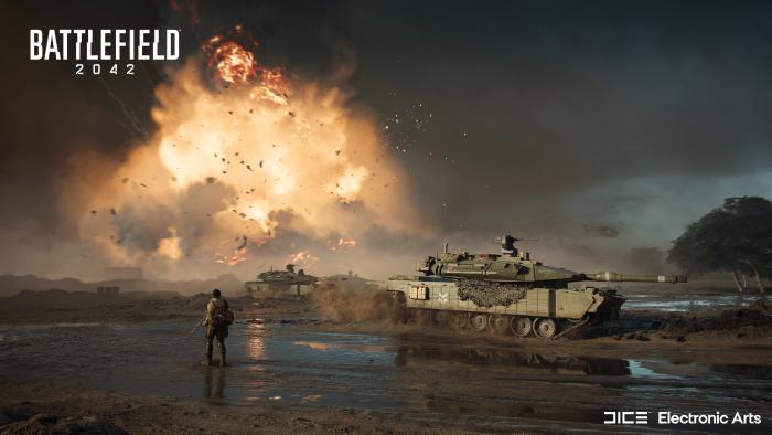 Artwork von Battlefield 2042 (Bild: Electronic Arts)