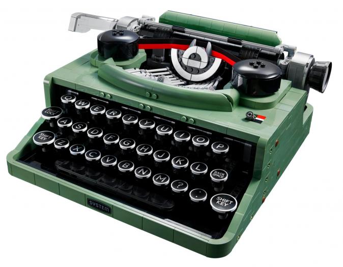 Lego-Schreibmaschine (Bild: Lego)