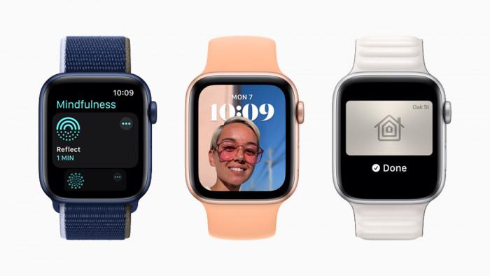 Neue Funktionen in WatchOS 8 (Bild: Apple)