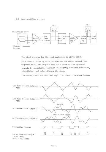 Eine Seite aus dem Handbuch des Laufwerks TEC FB-50x (Bild: Chris Evans)