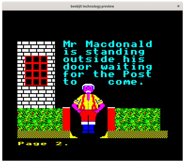 Mr. Macdonald (Bild: Chris Evans)