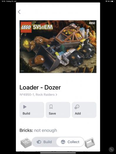 Etwa den tollen Rock Raiders Loader Dozer aus der Kindheit.  (Bild: Oliver Nickel/Golem.de)