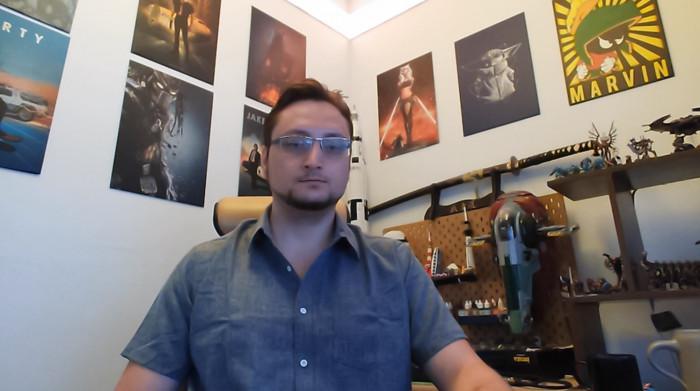 Elgato Facecam mit Rauschfilter (Bild: Oliver Nickel/Golem.de)
