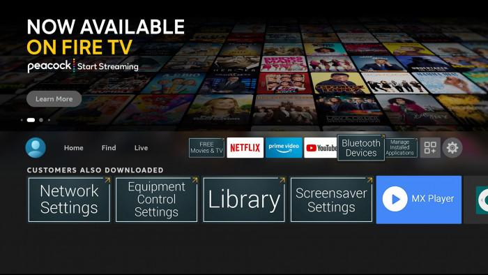 Loader Shortcut Apps auf einem Fire TV (Bild: AFTVnews)