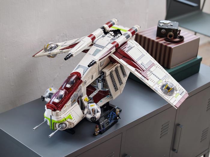 Lego Star Wars UCS Republic Gunship (Bild: Lego)