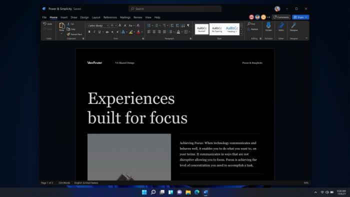Neues Design von Microsoft 365 (Bild: Microsoft)