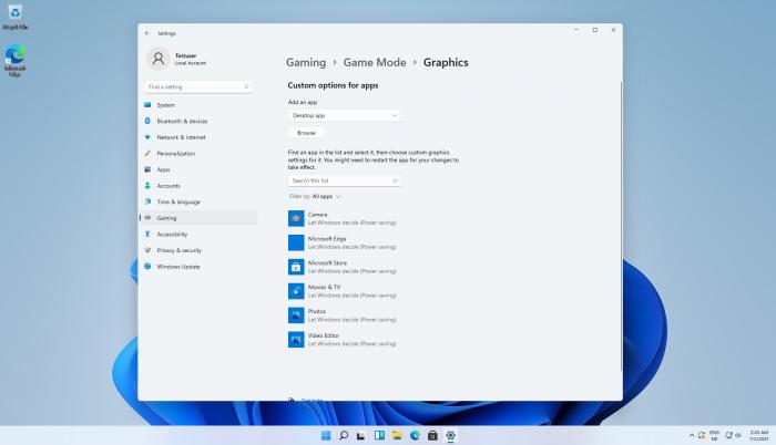 Die neuen Systemeinstellungen in Windows 11 (Bild: Microsoft/Screenshot: Golem.de)