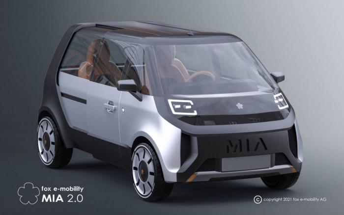Elektrischer Microvan Mia 2.0 (Bild: Fox E-Mobility)