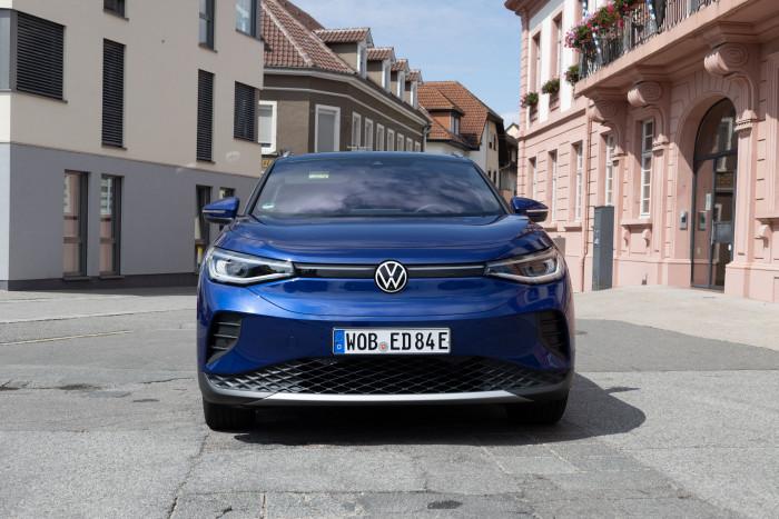 Das Elektroauto ID.4 von VW (Bild: Werner Pluta/Golem.de)