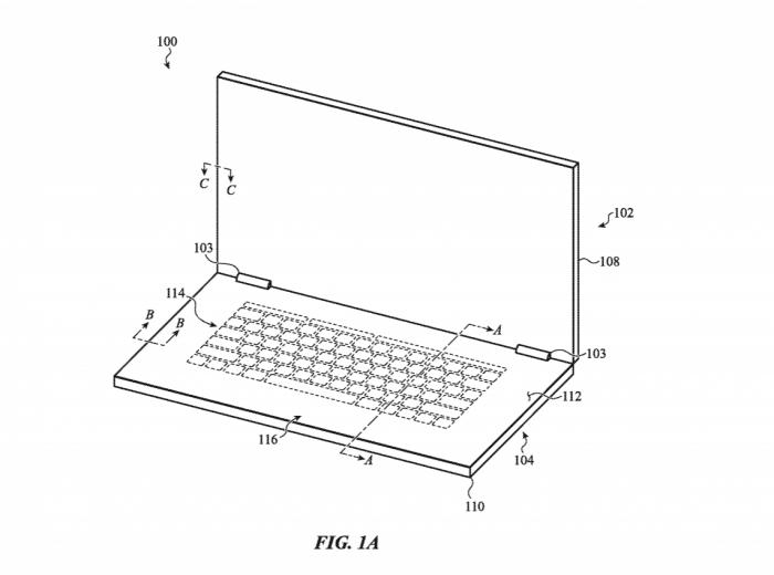 Apple patentiert eine virtuelle Tastatur. (Bild: Apple)