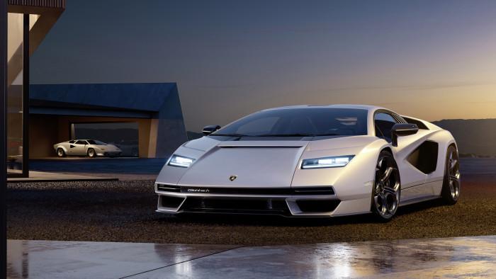 Der neue Lamborghini Countach LPI 800-4 (Bild: Lamborghini)