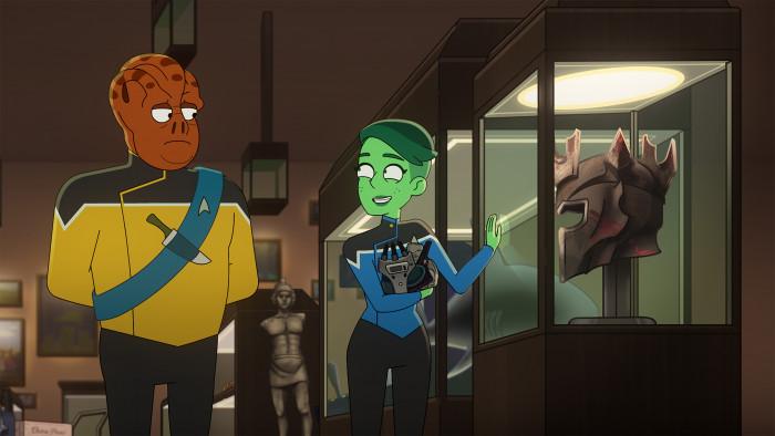 Die neue Staffel bringt zahlreiche klassische Spezies zurück - unter anderem ein tamarianisches Crewmitglied. (Bild: CBS)