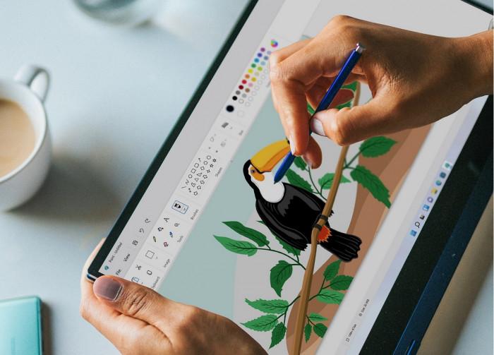 Neues Design von Microsoft Paint (Bild: Microsoft)
