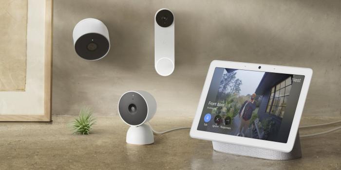 Die neuen Nest-Geräte von Google (Bild: Google)