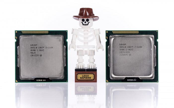 Core i5-2500K und Core i7-2600K sind besser gealtert als Lego-Indy. (Bild: Golem.de)