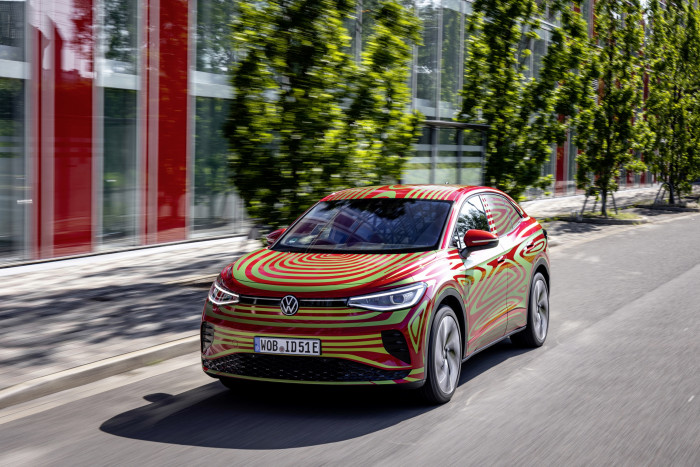 Volkwagen-Studie ID.5 GTX (Bild: Volkswagen)