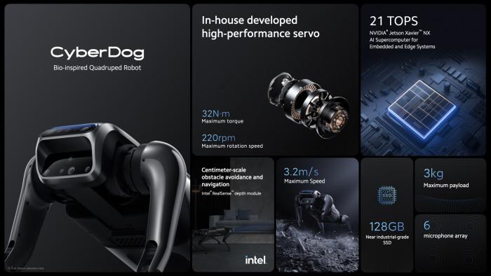 Xiaomi Cyberdog (Bild: Xiaomi)