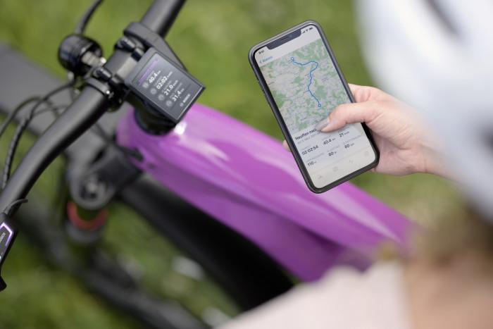Die App Ebike Flow soll die Komponenten verbinden. (Bild: Bosch)