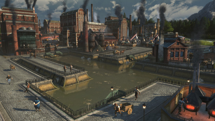 Artwork des Fußgängerzonenpakets für Anno 1800 (Bild: Ubisoft Blue Byte)