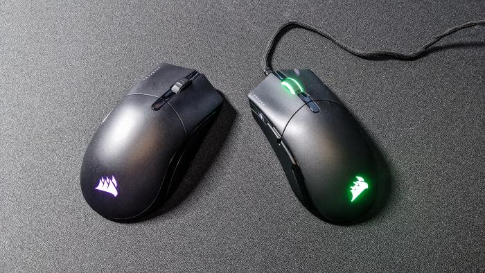 Beide Mäuse im Vergleich (Bild: Oliver Nickel/Golem.de)