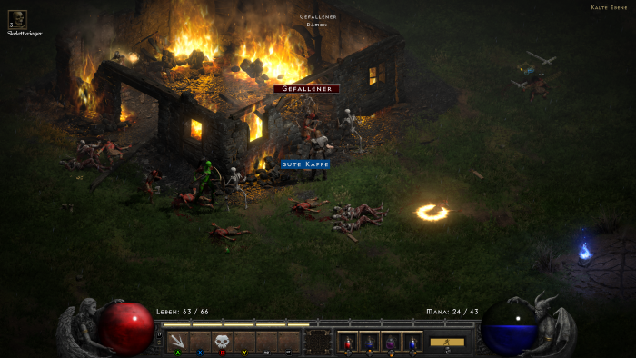 Resurrected bietet unter anderem dynamische Schatten. (Bild: Blizzard / Screenshot: Golem.de)
