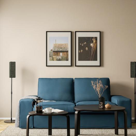 Bodenstativ für Symfonisk-Regallautsprecher (Bild: Ikea)