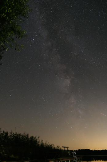 Milchstraße, Einzelaufnahme (Bild: Mario Keller)