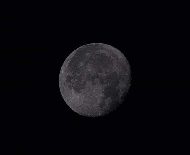 Der Mond (Bild: Mario Keller)