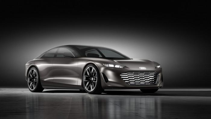 Grandsphere Concept von Audi... (Bild: Audi)