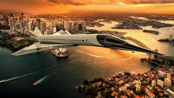 Überschallflugzeug Leap EON-01 (Bild: Leap Aerospace)
