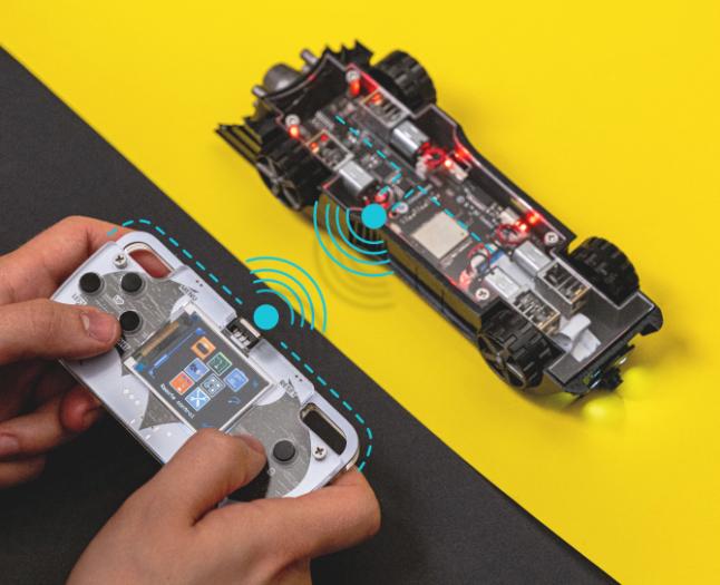 Circuitmess Batmobile (Bild: Circuitmess)
