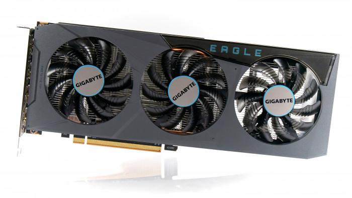 Radeon RX 6600 Eagle von Gigabyte (Bild: Marc Sauter/Golem.de)