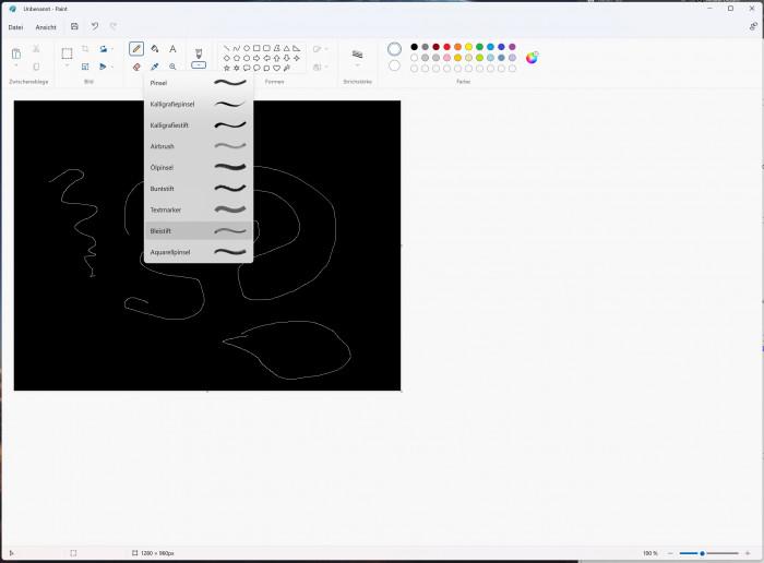 Redesign von Microsoft Paint (Screenshot: Oliver Nickel/Golem.de)