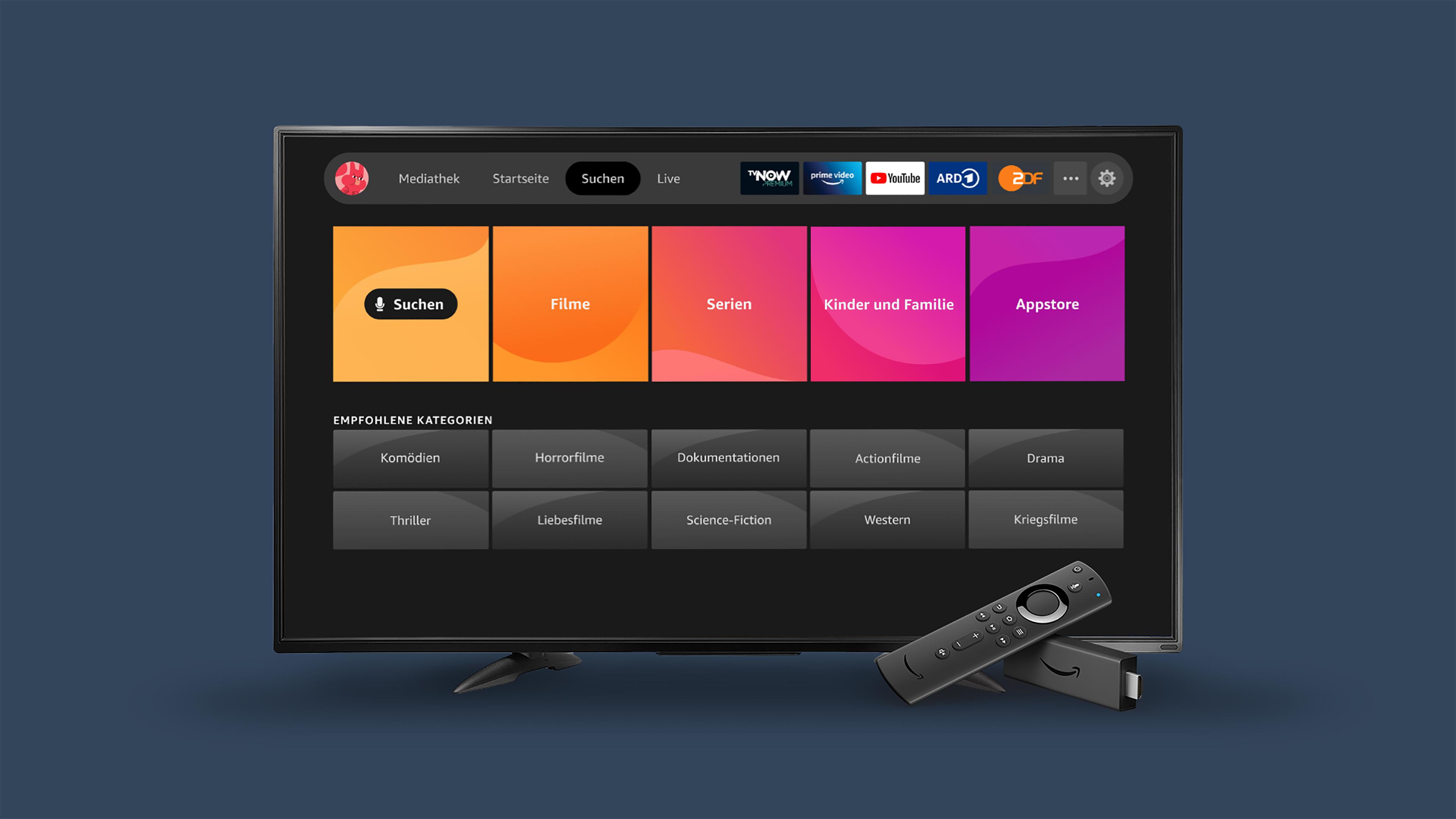 Neue Streaming-Oberfläche: Amazon bringt großes Update auf weitere Fire-TV-Modelle -